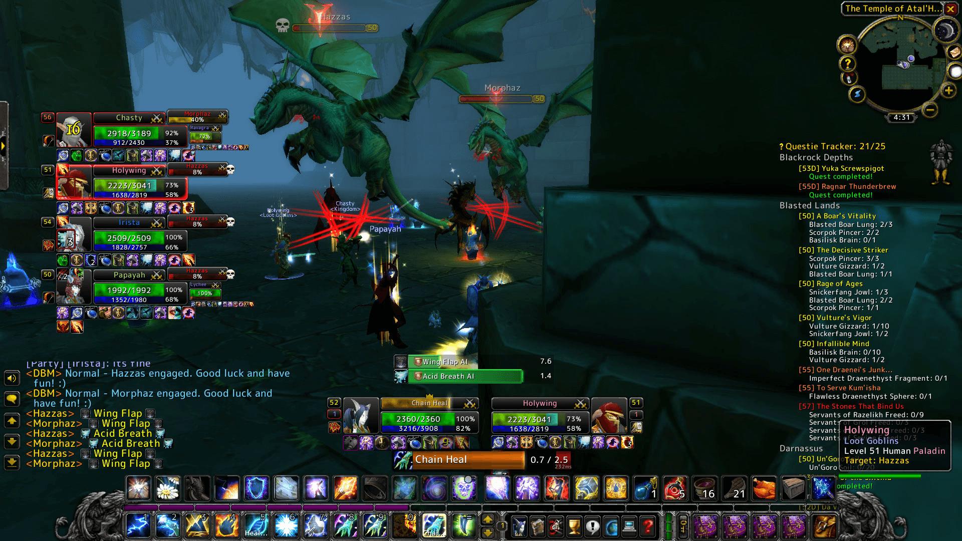 Green Dragonflight